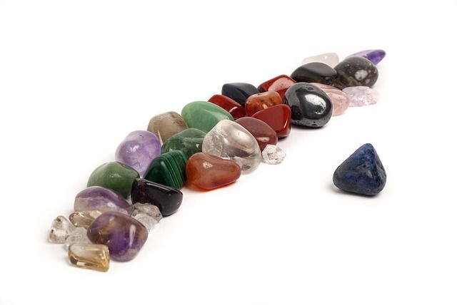 colgante, piedras mágicas, alambre, bisutería, manualidades