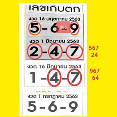 Thailand Lottery 3up Straight Win Tip Facebook Timeline 01 July 2020