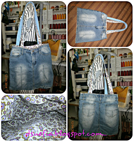 Dsuefia Collection: BAG JEANS