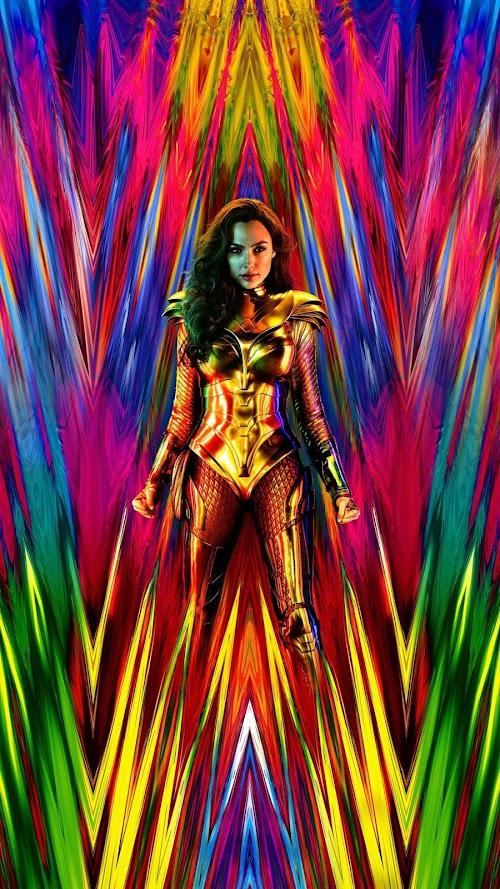 Wonder woman 1984 mobile-wallpaper