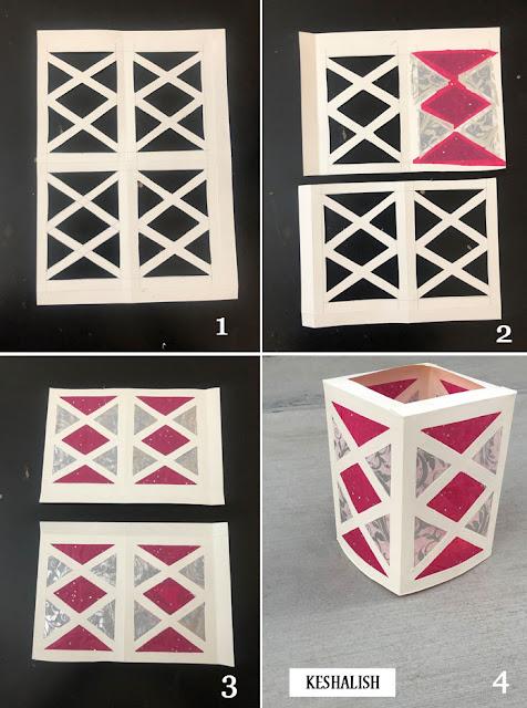 diwali lantern craft