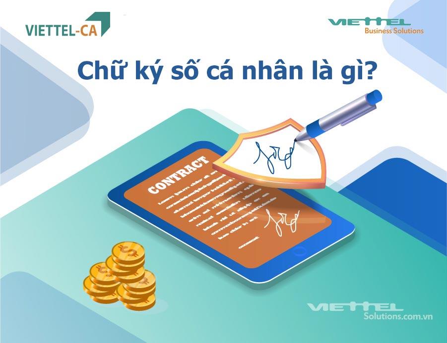 Ảnh minh họa: Chữ ký số cá nhân Viettel-CA là gì?