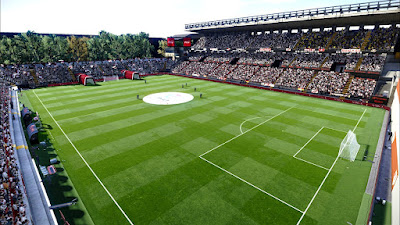 PES 2021 Stadium Estadio de Vallecas