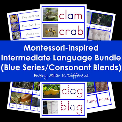 Montessori-inspired Intermediate Language Bundle