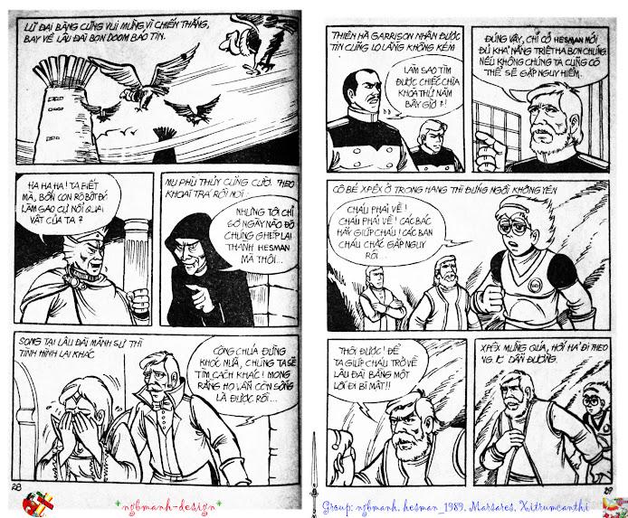Dũng Sĩ Hesman tập 2 - hesman xuất hiện trang 16