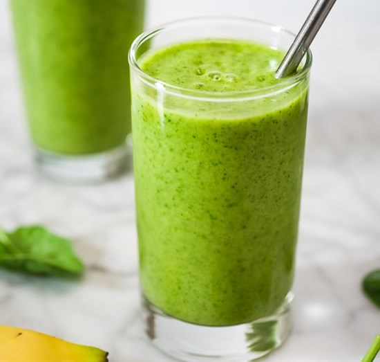 SPINACH SMOOTHIE RECIPE #healthydrink #breakfast