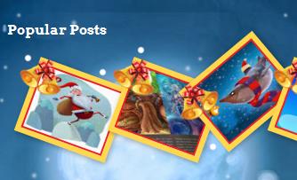 popular posts widget, blogger gadgets