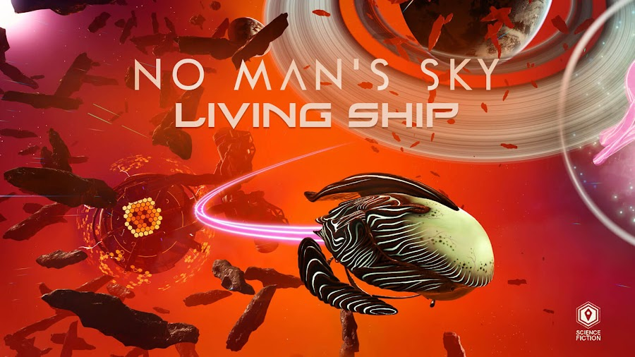 no mans sky living ship free expansion update hello games pc steam ps4 xb1