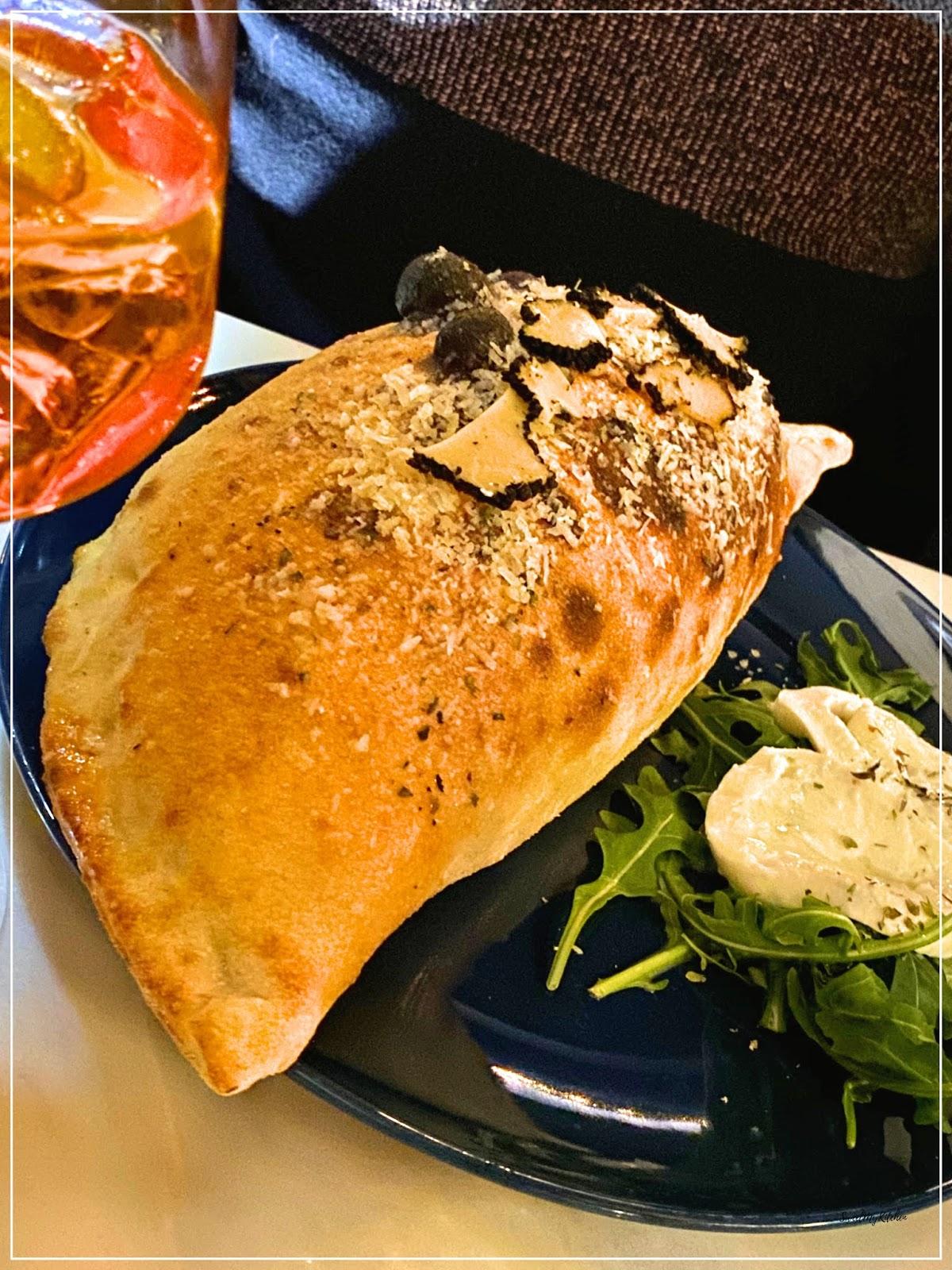 Visconti Chiado restaurante italiano Calzone trufa