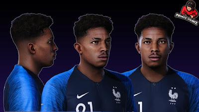 PES 2021 Faces Wesley Fofana by Prince Hamiz