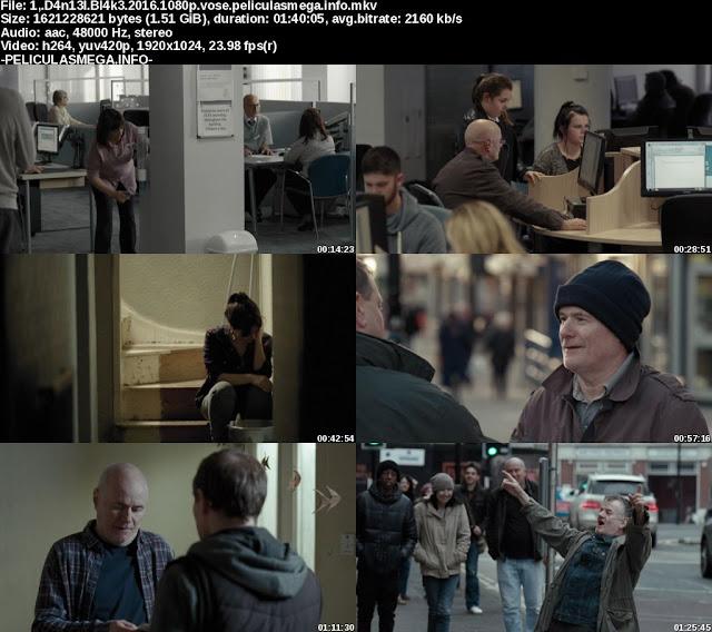 Descargar I, Daniel Blake Subtitulado por MEGA.