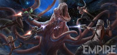 """Nuevo concept art de """"Guardianes de la Galaxia Vol. 2"""""""
