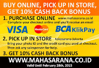 10% Cash back bonus