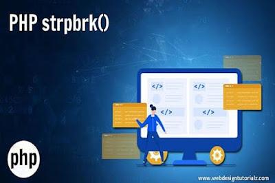 PHP strpbrk() Function