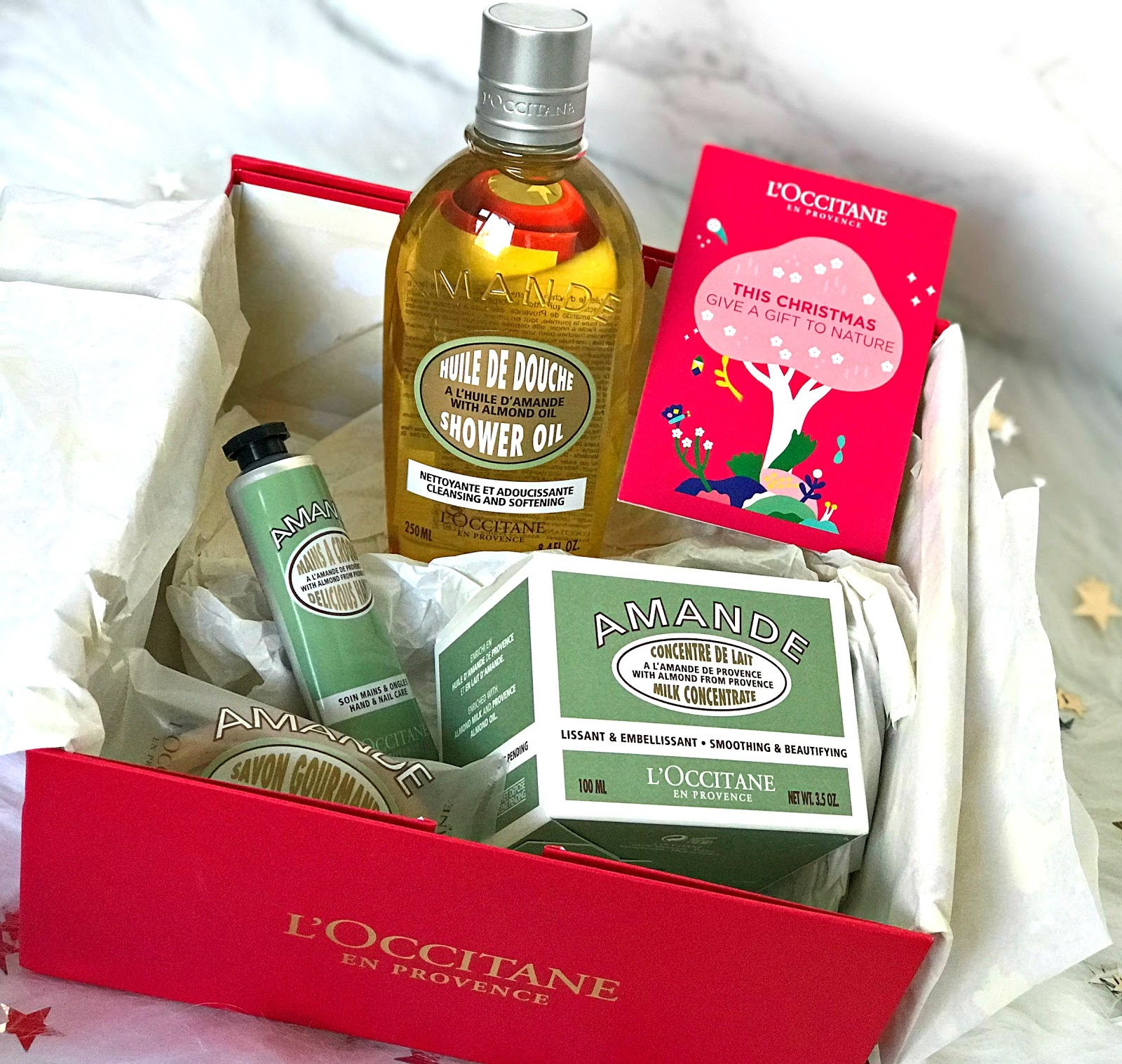 L'Occitane Almond Body Care Gift Set Review