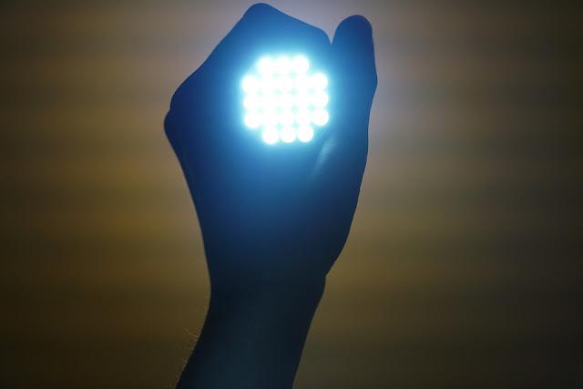flashlight lampu led