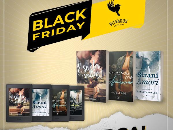 Divulgação: Black Friday da Pitangus Editorial
