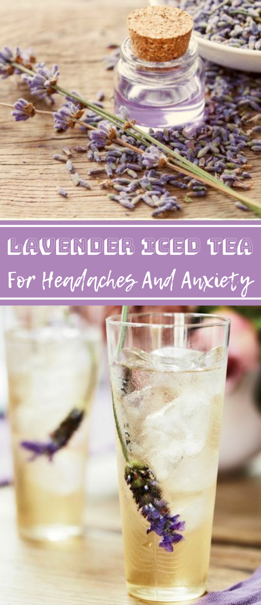 How to Make Lavender Iced Tea  #healthydrink #fresh #party #lavender #easy