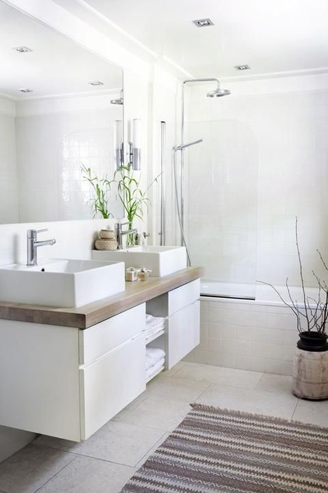 Armonía de colores para conseguir un baño elegante