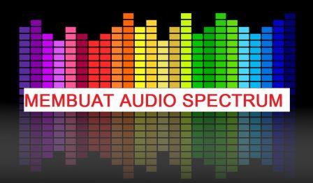 Cara membuat audio spectrum di android