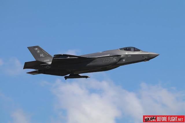 USAF F-35 TLP Albacete Spain