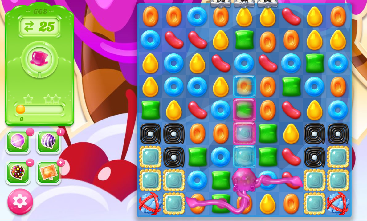 Candy Crush Jelly Saga level 662
