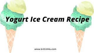 Curd Ice Cream Recipe