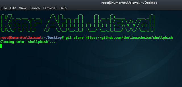 the-linux-choice-shell-phish-kumar-Atul-jaiswal