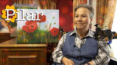Pilar Porras, con una sonrisa siempre pintada en la cara