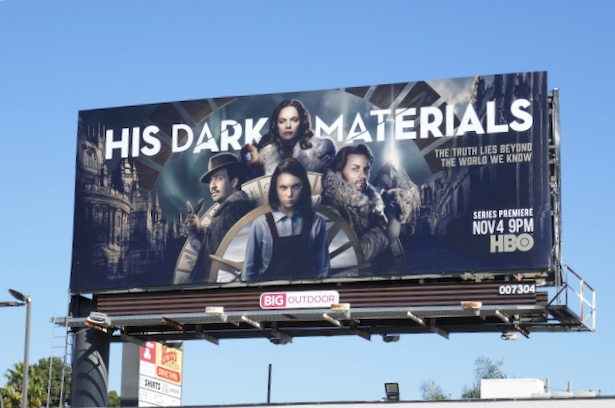 His Dark Materials series premiere billboard
