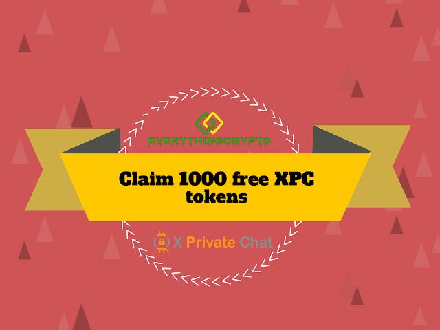 Claim 1000 free XPC tokens (10$)