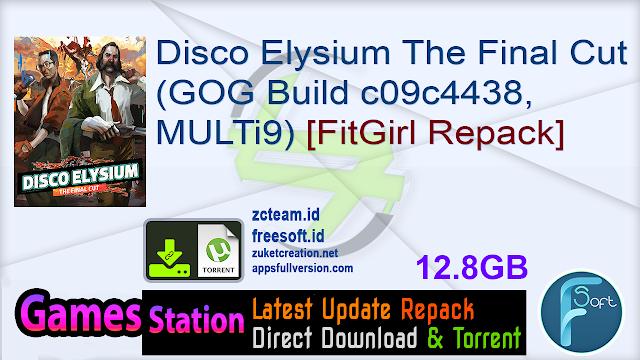 Disco Elysium The Final Cut (GOG Build c09c4438, MULTi9) [FitGirl Repack]