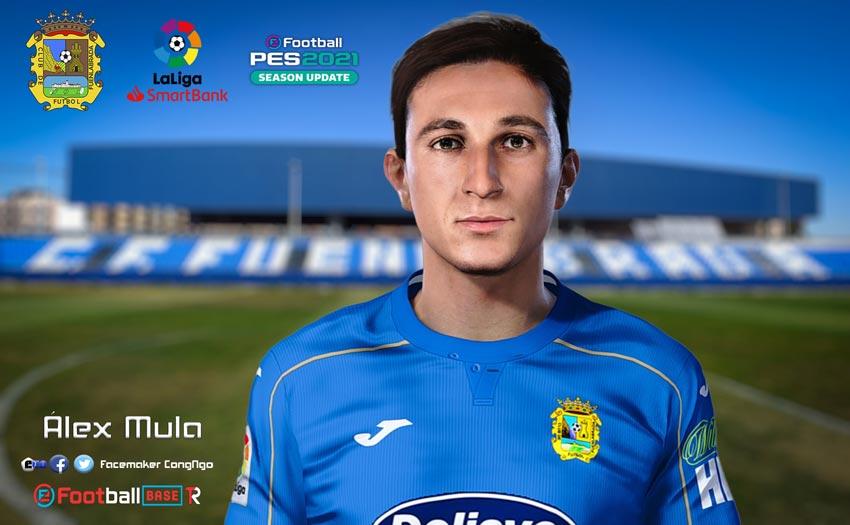Álex Mula Face For eFootball PES 2021
