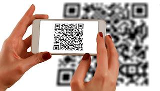 scan a QR code