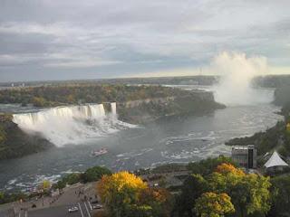 American, Bridal Veil And Horseshoe Falls.