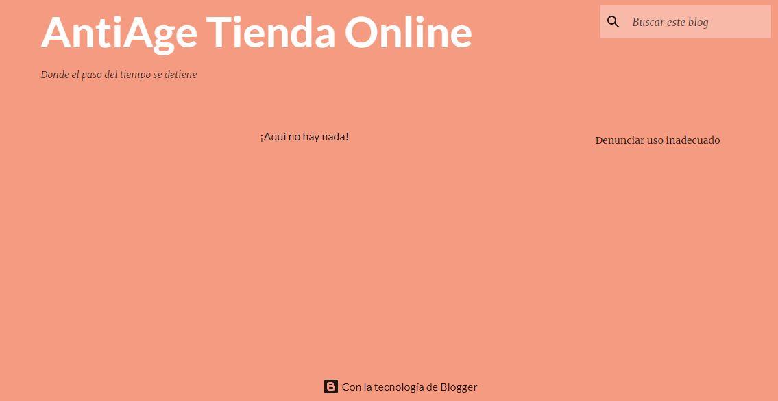 AntiAge Tienda Online