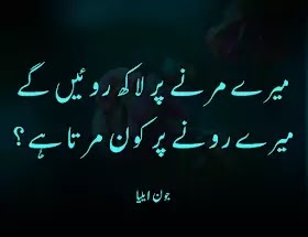 Jaun Elia Shayari in urdu Poetry Shayariparho