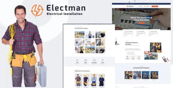 Best Electricity Services HubSpot Theme