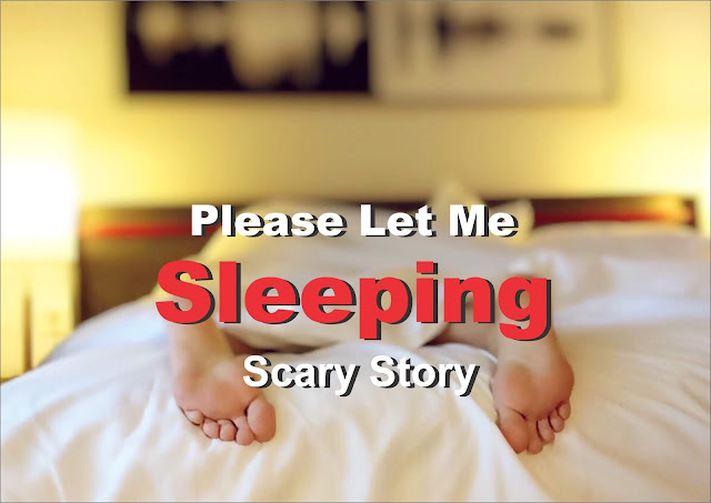 Please Let Me Sleeping || Scary Story