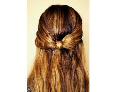 Half-Up Hair Bow