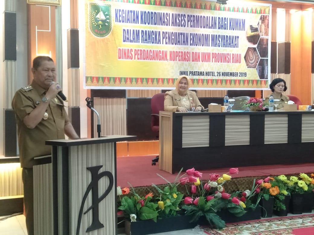 Ratusan Ribu UKM di Riau Terimbas Covid-19
