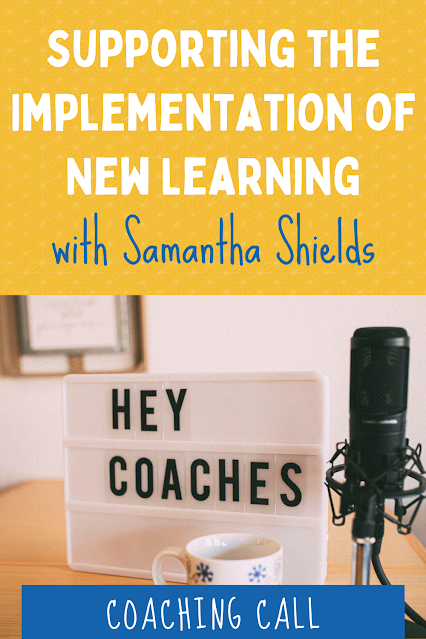 There have been many changes for schools and teachers this year. Early literacy specialist, Samantha Shields, joins me on the podcast to talk about issues with coaching virtually. We chat about ideas to get teachers excited about implementing Texas Reading Academies or any new program. Tune in to learn how to have organic conversations and get teachers on board even during a pandemic!