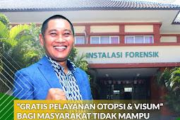 Gratis Otopsi & Visum Bagi Masyarakat Tak Mampu di RSUP NTB