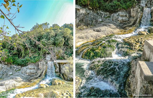 Fontes de águas termais nas Termópilas, Grécia