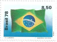 Selo Bandeira do Brasil 1978