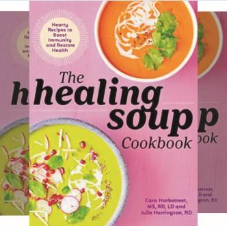Book: Food Recipes that Boost Immunity - Cookbook by Cara Harbstreet and Julie Harrington - Publisher: Rockridge Press