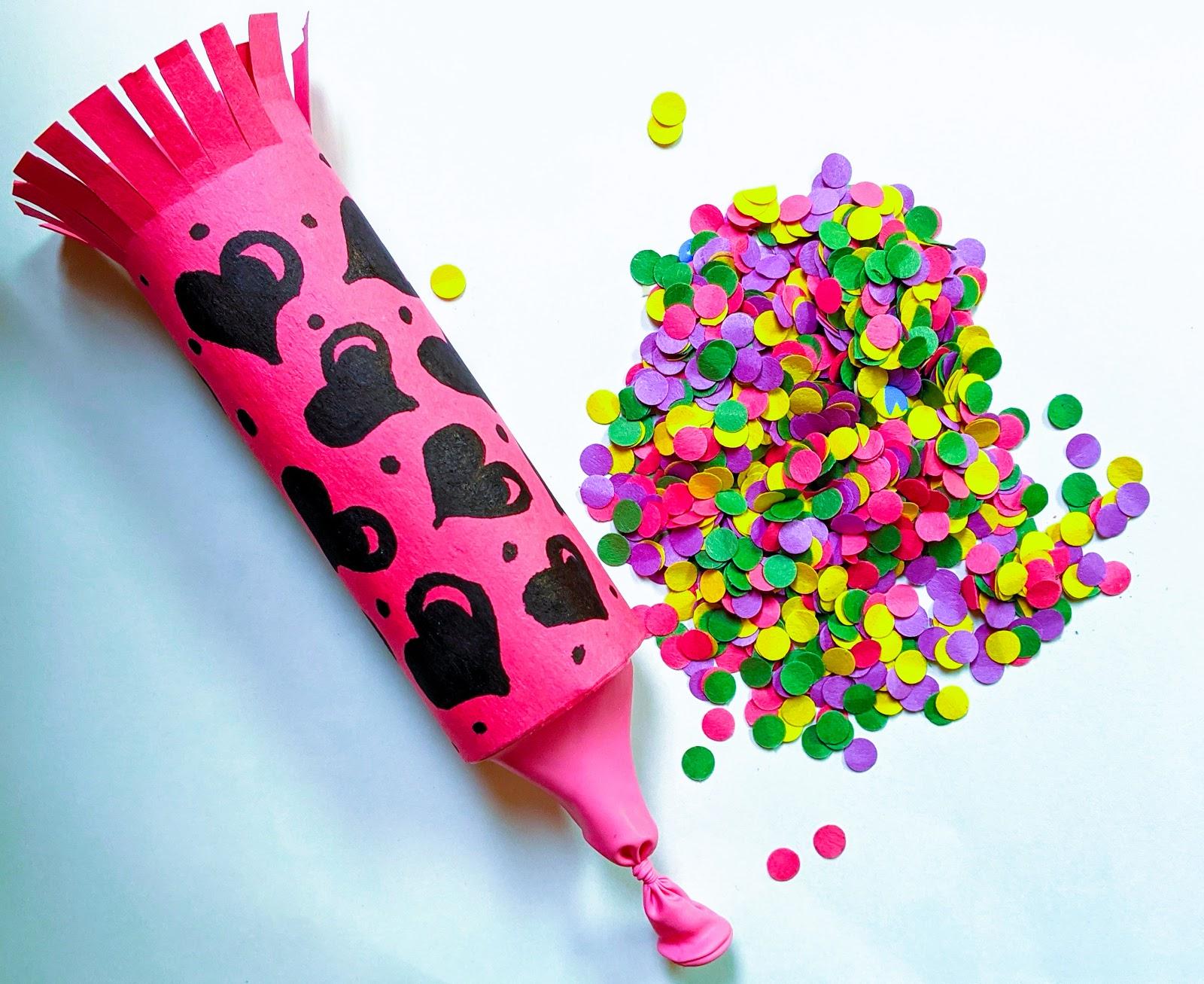 rocket confetti