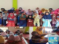 Antisipasi Covid-19 Mahasiswa PMM UMM Kembali Mengedukasi 6 langkah Cuci Tangan Kepada Anak- anak TPQ Dusun Sempu