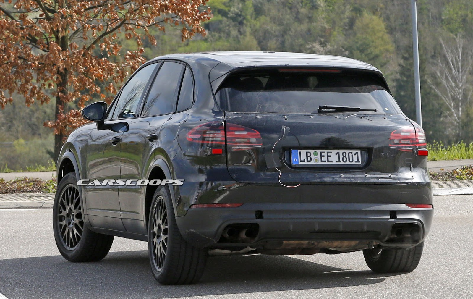 Scoop Porsche Says Nein To Buttons For 2018 Cayenne S