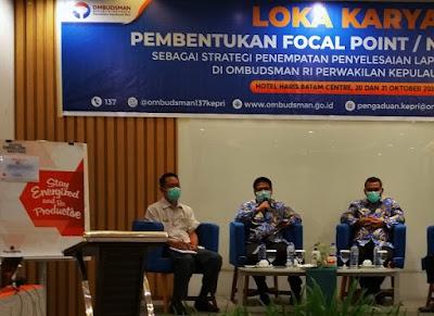 Ombudsman Kepri dan Instansi Pelayanan Publik Akan Bentuk Narahubung